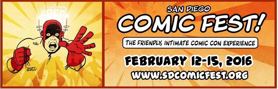 2016 San Diego Comic Fest