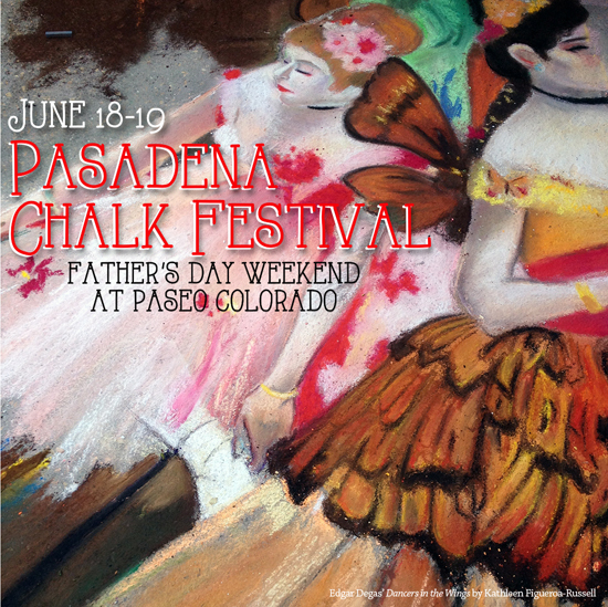 24th Annul Pasadena Chalk Festival