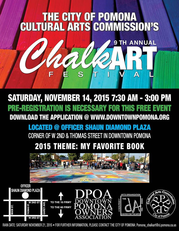 Pomona Chalk Festival 2015