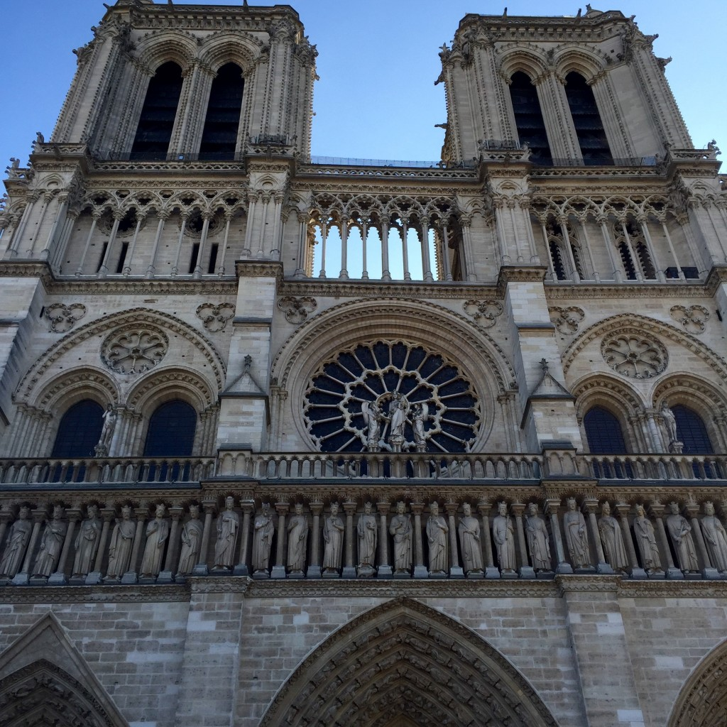 The infamous Notre Dame Church.