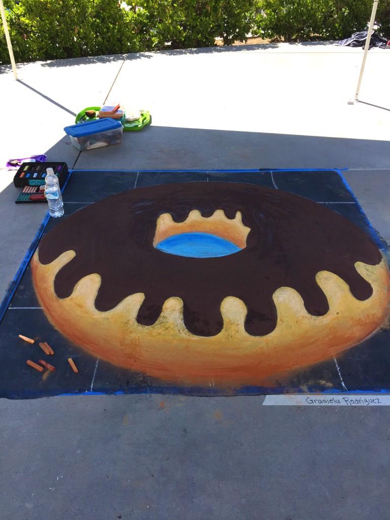 Chalk Donut by Grasiela Rodriguez