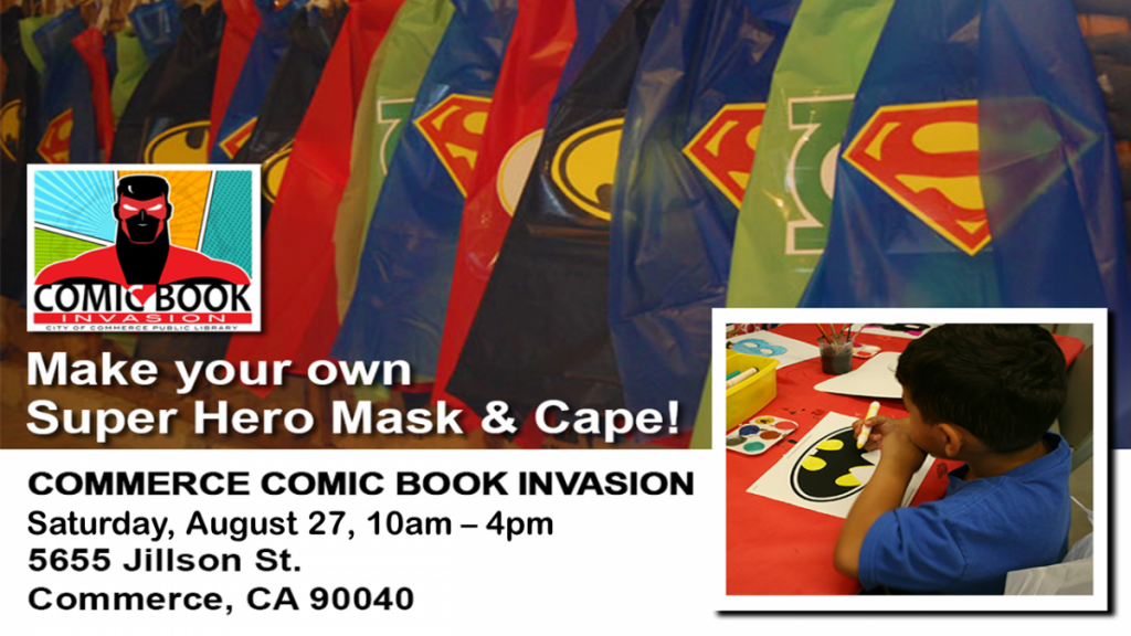 Comic Book Invasion