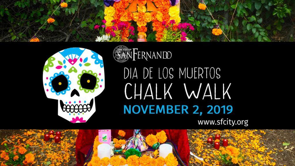San Fernando Dia de los Muertos Chalk Walk