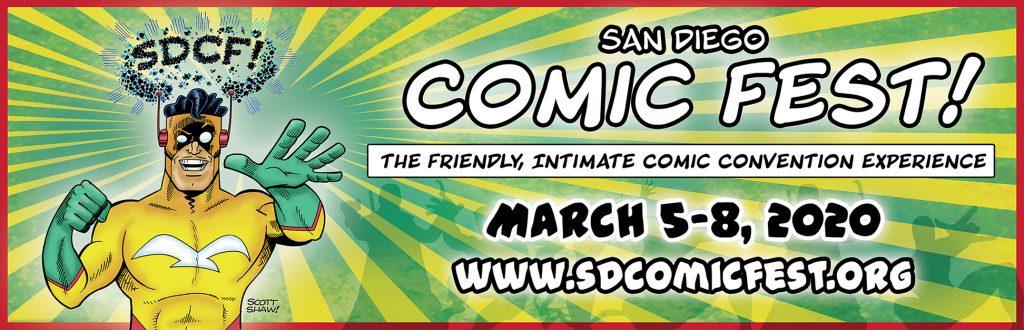 2020 San Diego COMIC FEST