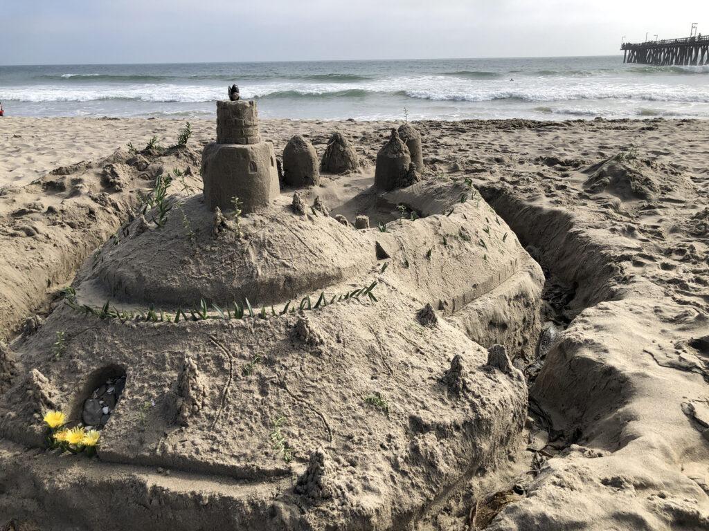 Sand Castle at Port Hueneme